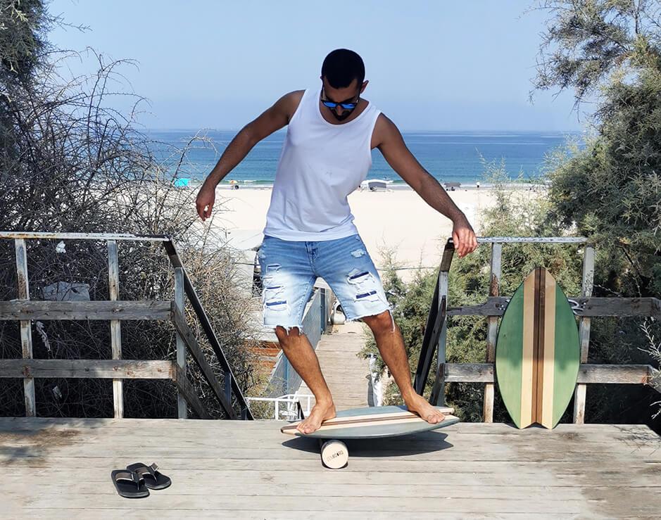 אימון מצוין לגולשים. Zenboard Balance Board.