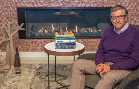 5 הספרים המומלצים של ביל גייטס לסיכום שנת 2019