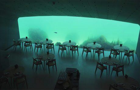 המסעדה התת ימית הגדולה בעולם